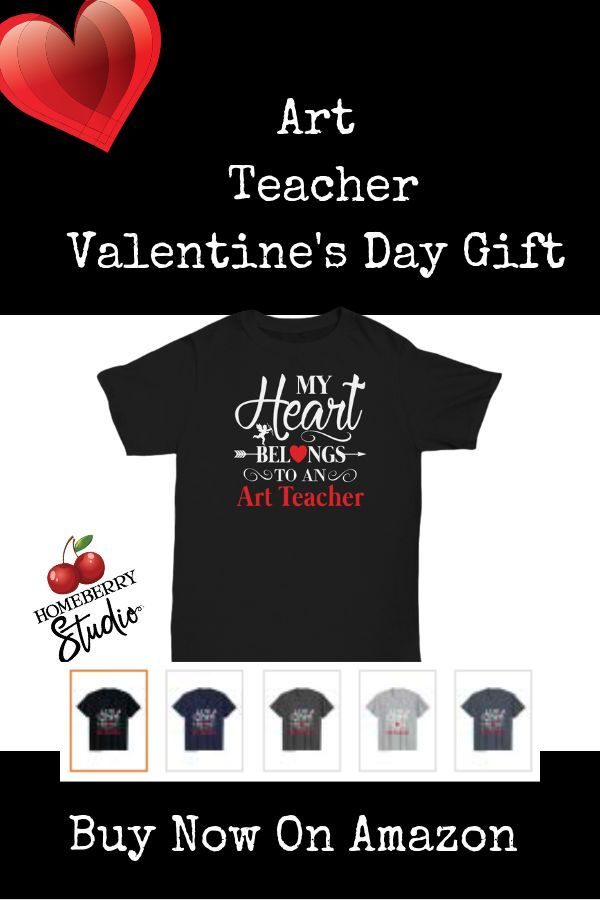 Art Teacher Valentines Art Teacher Tee Shirts Art Teacher Gift