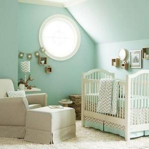 mint-green-baby-nursery.jpg - Photo via Baby Fashion Ideas.