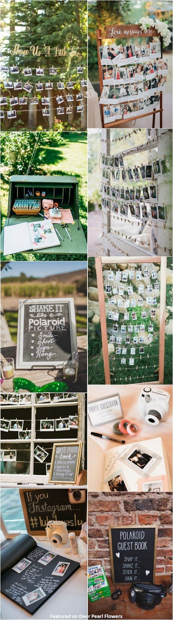 30 Creative Polaroid Wedding Ideas Youu0027ll Love