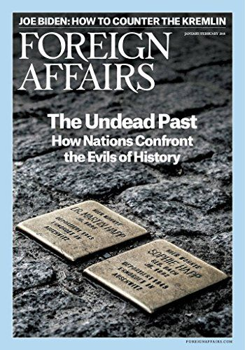 Foreign Affairs - Since its founding in 1922, Foreign Affairs has been the leading forum for serious discussion of international affairs. Experts from across the political spectrum offer timely and incisive analysis on the most crucial issues affecting foreign policy and the global economy. The Kindle Edition of F...