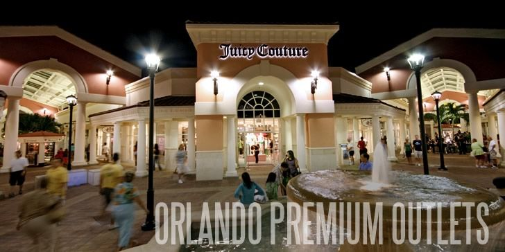 I travelled to Orlando FL and spent a whole day at the Premium Outlet Stores - Shopping Shopping and more Shopping!!