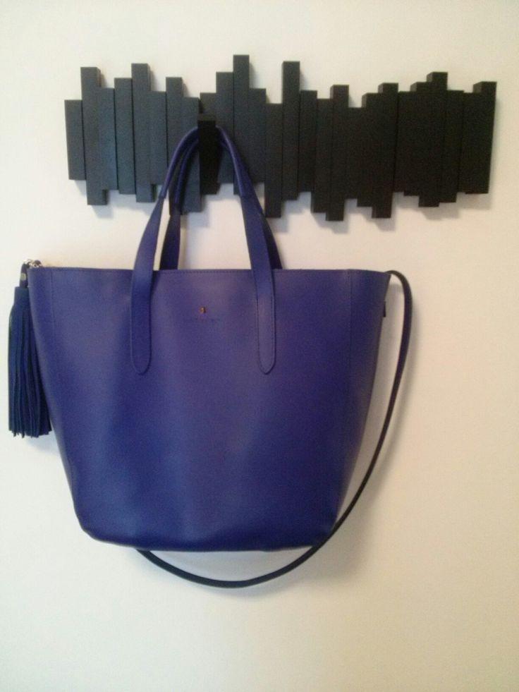 Szalony wieszak + torba kobalt batycki