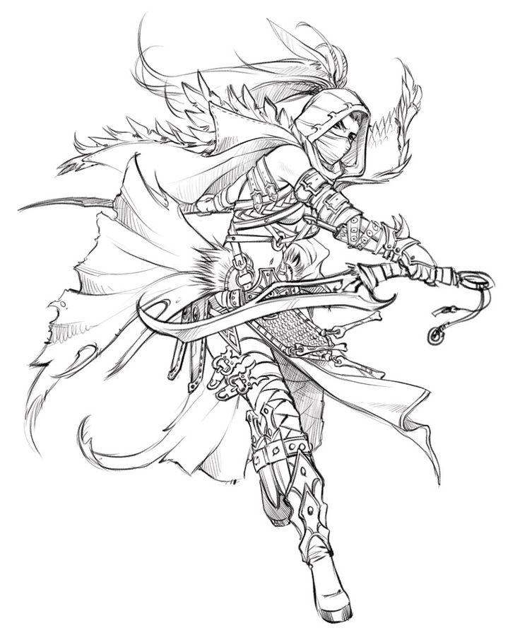 Single Line Character Art : Best lineart angela marvel images on pinterest