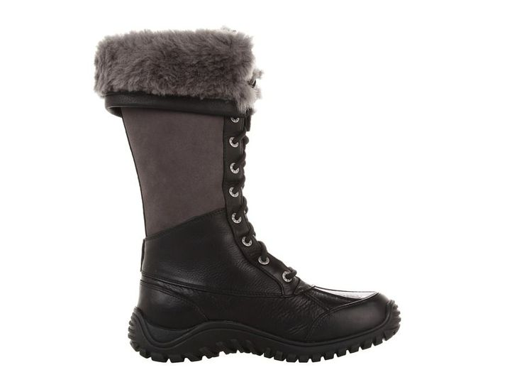 UGG Adirondack Tall Women's Cold Weather Boots Black