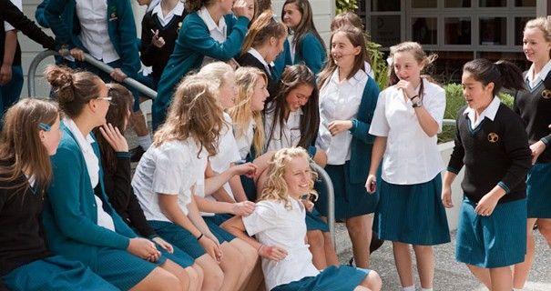 Wellington Girls' College Students