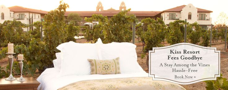 Ponte Vineyard Inn, 4 Star Temecula Hotel in Wine Country