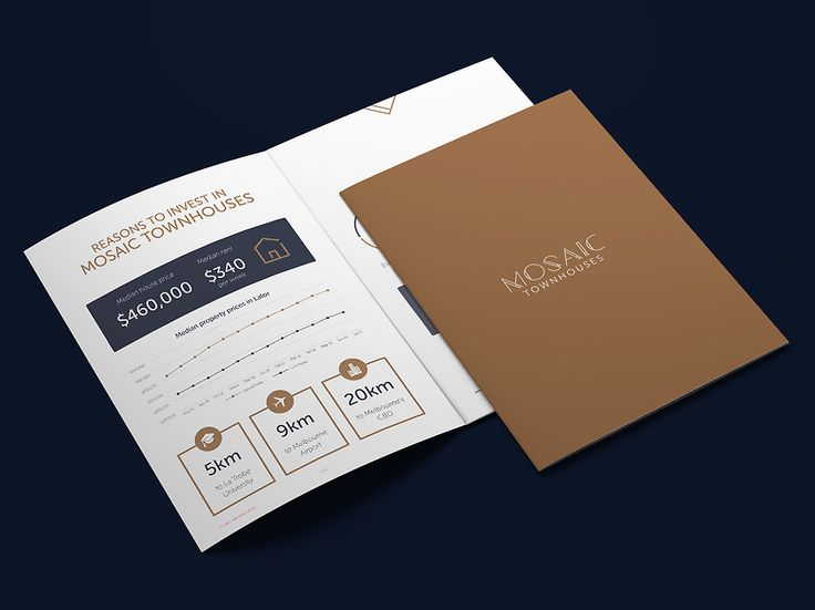 Small and Co Portfolio, Mosaic Townhouses Brochure Investor Info
