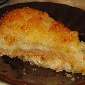 Яблочный манный пирог бе…