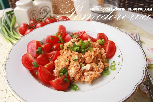 Pomidorowa jajecznica.