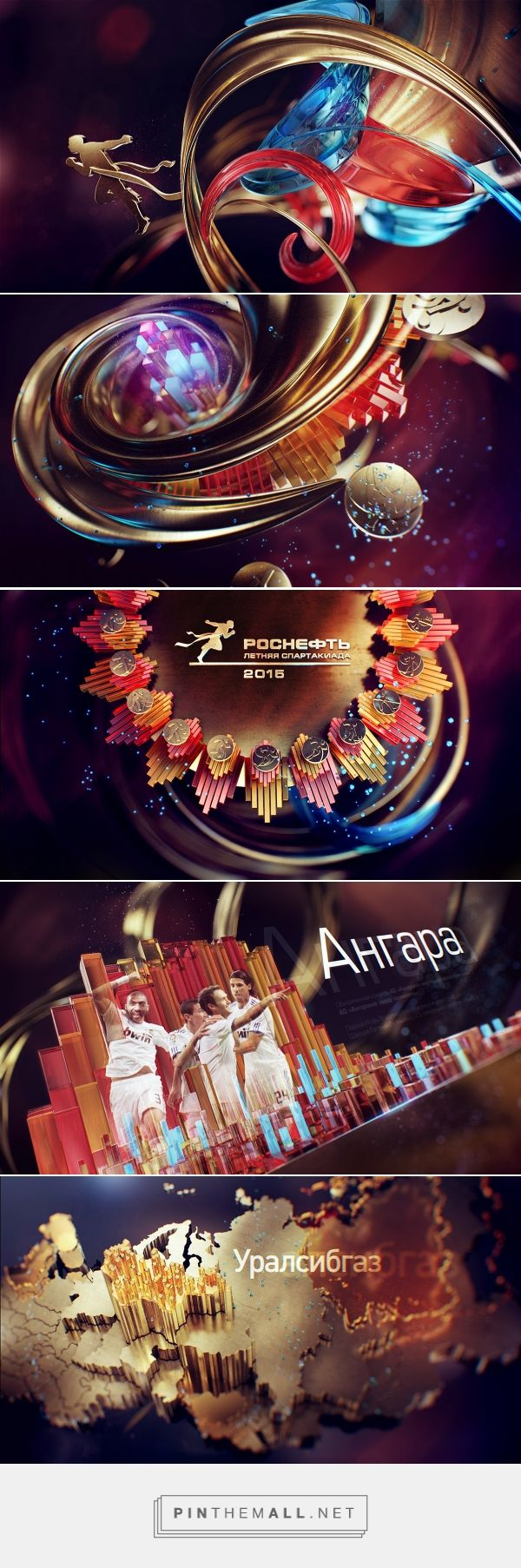 Rosneft Styleframes on Behance... - a grouped images picture - Pin Them All