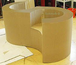 1000 id es sur le th me fauteuil en carton sur pinterest. Black Bedroom Furniture Sets. Home Design Ideas