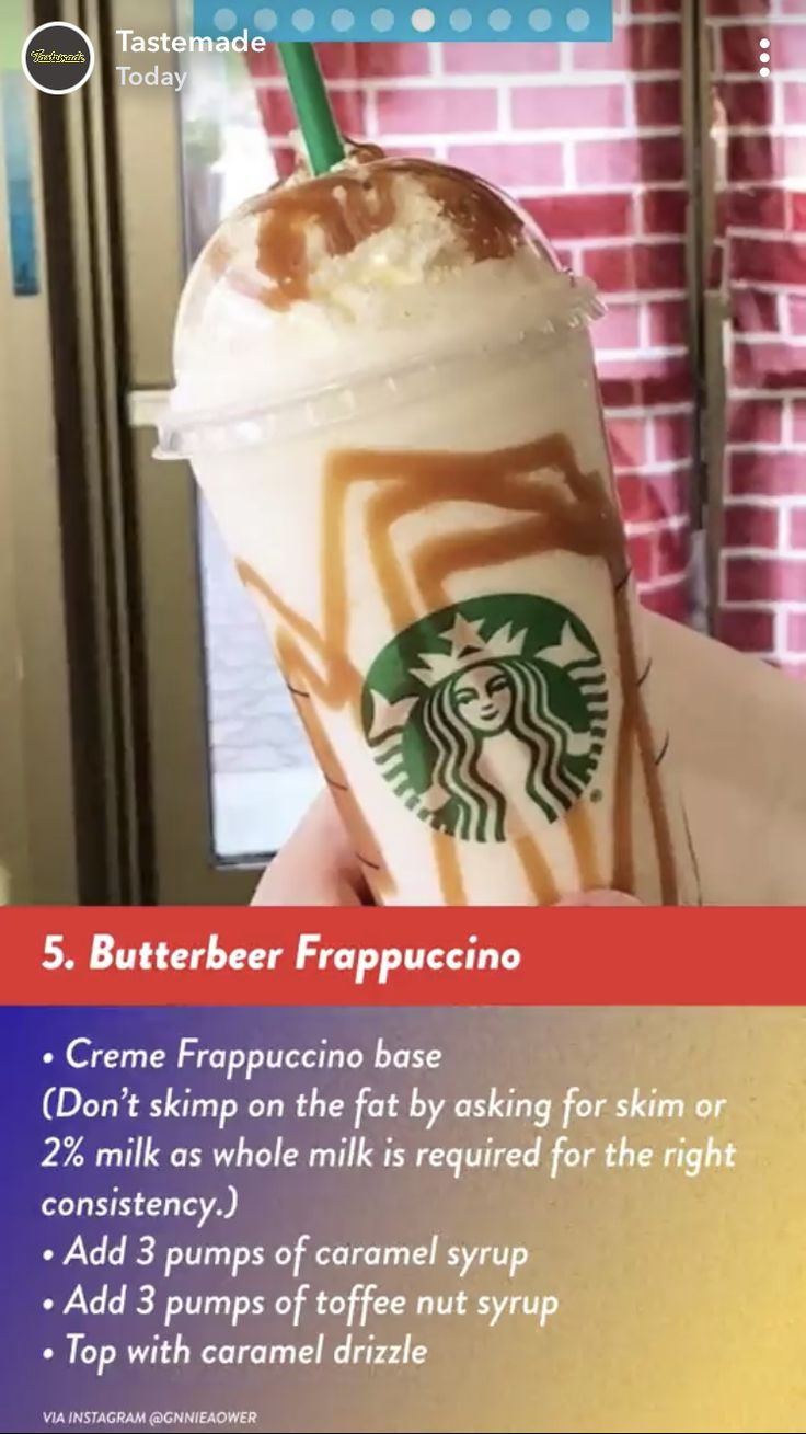 Pin by April Pector on Drinks (With images) Starbucks