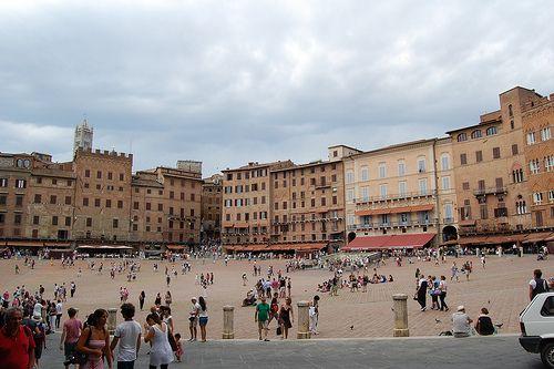 Piazza del campo, Siena #toscana
