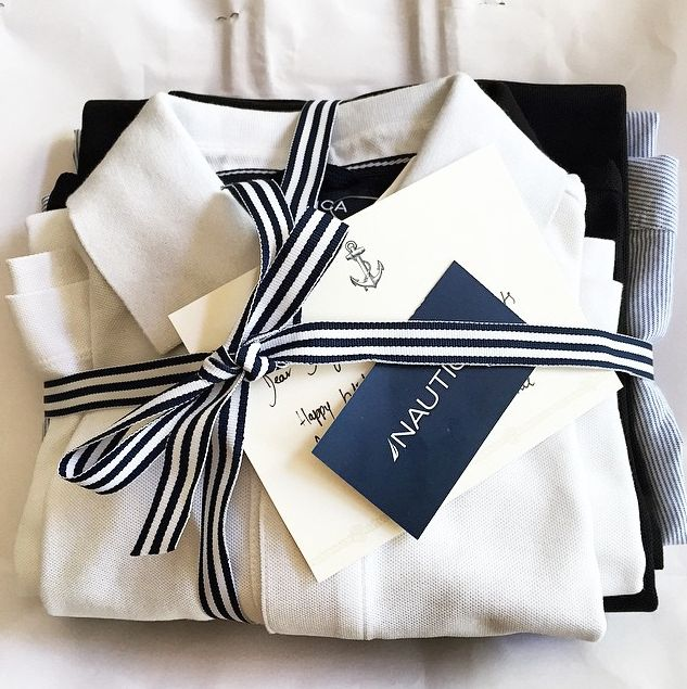 Wrap these Nautica Polo Shirts up for an appreciated and practical gift! #nauticapoloshirts