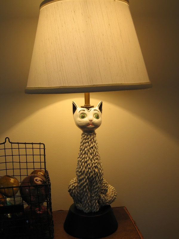 1000 Images About Cat Decor Lamps Op Pinterest Glas In