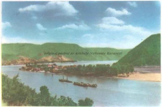 BU-F-01073-5-02616-1 Ada Kaleh (insulă pe Dunăre, acoperită în 1970 de apele lacului de acumulare al hidrocentralei Porțile de Fier I), -1959 (niv.Document)