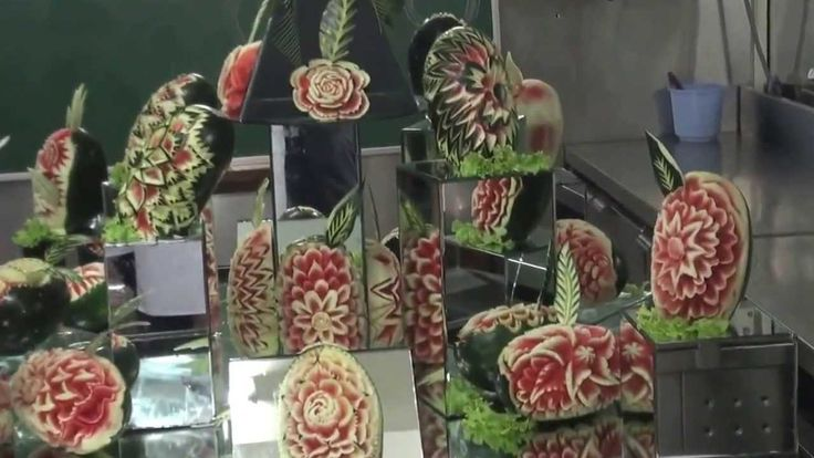 INTRICATE WATERMELON CARVING@CAI-2013