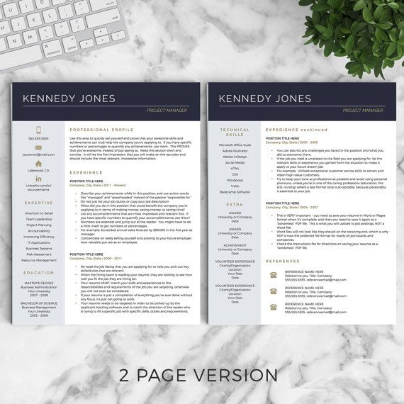 The 25+ best Professional cv ideas on Pinterest Cv template, Cv - professional cv template