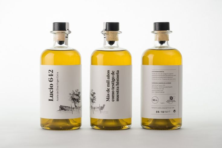 Lucio 642 Extra Virgin Olive Oil on Packaging of the World - Creative Package Design Gallery