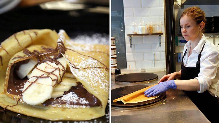 Hos Crêperie de Mari på Grünerløkka lages ekte, franske pannekaker. Lær selv hvordan det gjøres.