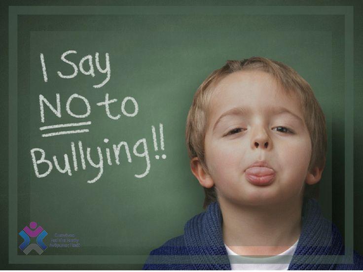 """"""" Αγνόησε τους ανθρώπους που μιλάνε πάντα πίσω από την πλάτη σου, γιατί εκεί ακριβώς ανήκουν. Πίσω σου! """"  Παγκόσμια Ημέρα κατά της ενδοσχολικής βίας και του ενδοσχολικού εκφοβισμού σήμερα!  Λέμε ΟΧΙ στο εκφοβισμό - ΟΧΙ στη βία...ΝΑΙ στη φιλία!"""