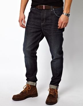 ASOS Tapered Jean In Japanese Selvedge Rinse Wash