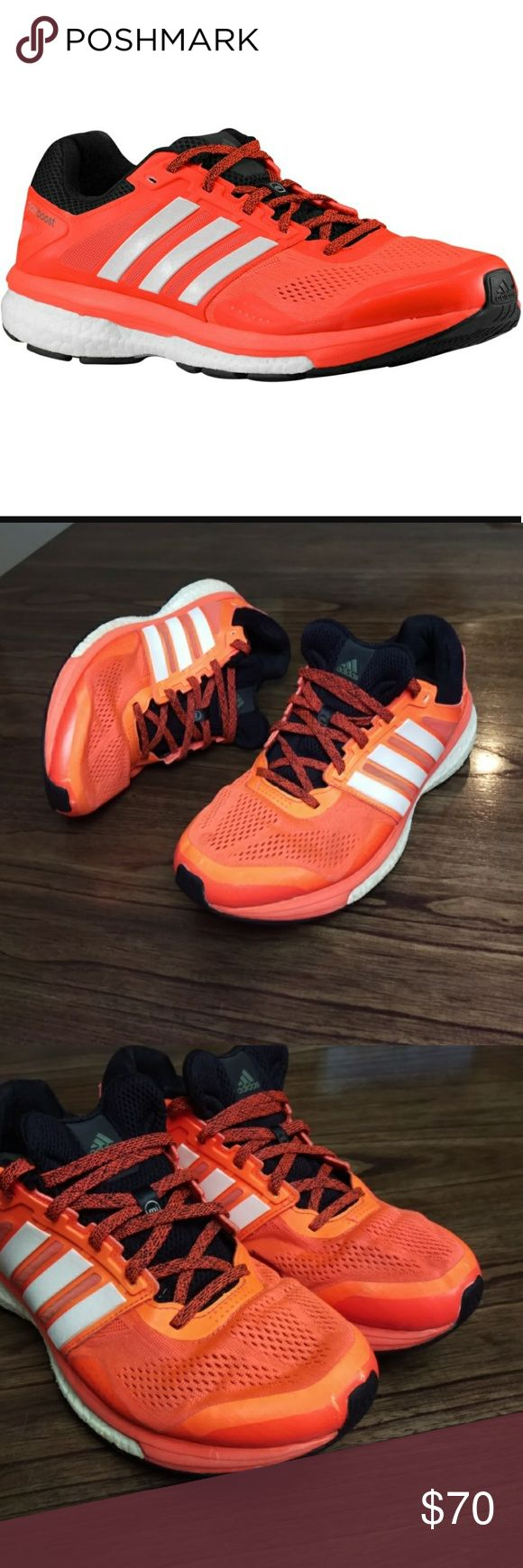 Adidas Men's Supernova Glide Boost 7 Running shoes Adidas Men's Supernova Glide Boost 7 Running shoes Size 10.5 us B40267 Pre-owned in good condition. adidas Shoes Athletic Shoes
