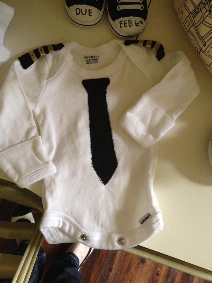 Baby Pilot Pilot Onsie Uniform Baby Kid Style
