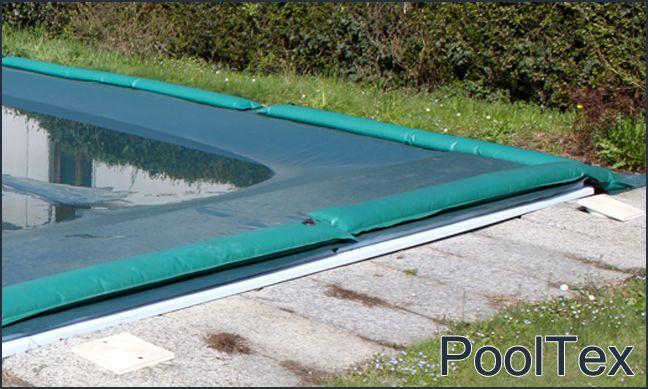 PoolCover & PoolTex Coperture invernali ultraleggere in polietilene, ottima resistenza allo strappo!