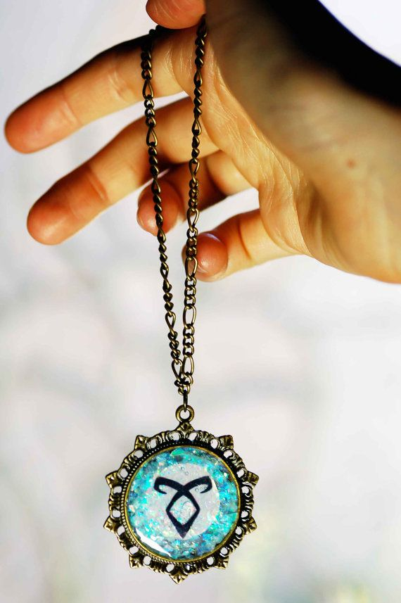 The Mortal Instruments Portal Necklace Inspired by by HallofFemme