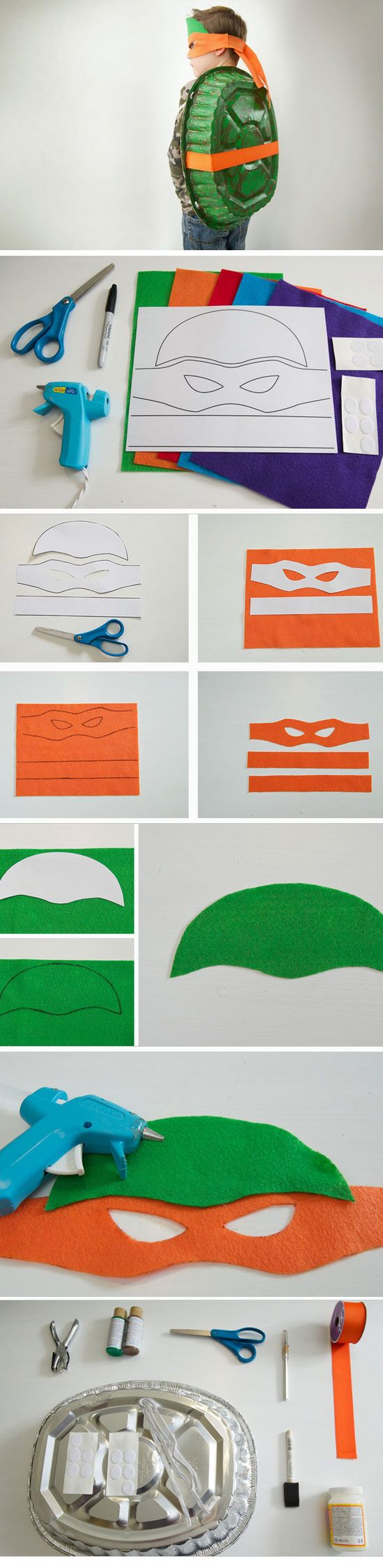 TMNT | 25+ DIY Halloween Costumes for Kids to Make