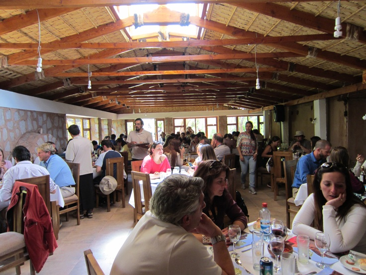 Group lunch in San Pedro de Atacama, Chile. Photo by CD
