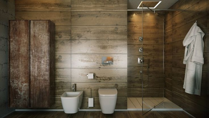 http://boomzer.com/5-deluxe-bathrooms/wood-paneling-luxury-soaking-tub-paul-winds-bit-retro-betray-deep-soaking-tub-porcelain-sinks-natural-stone-wall-decorations-wooden-flooring-towels-rug-toilet-bathtub-glass-shower/