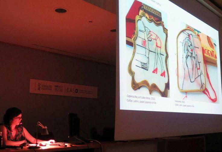 Erica Jordán  Siete historias. –  EASD de Valencia. 2015