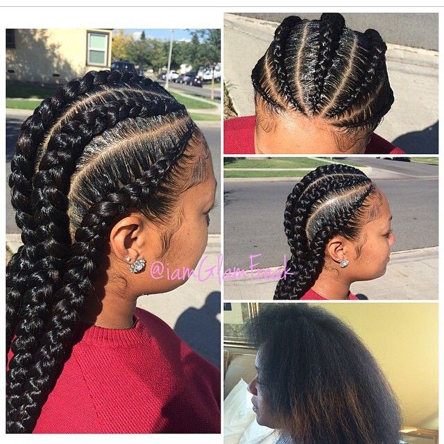 Stylist Feature These Cornrows By Iamglamfreak Are Laid