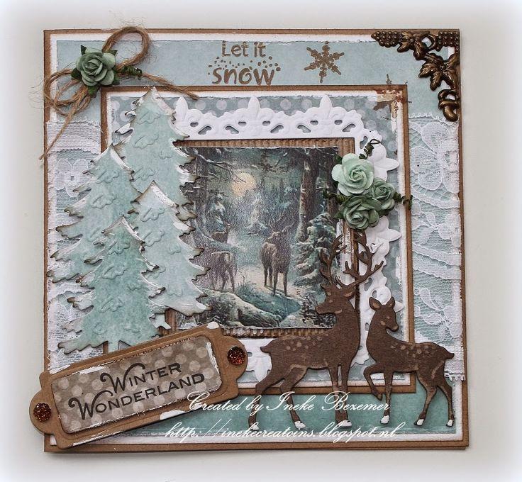 """Ineke""""s Creations: Winter Wonderland"""