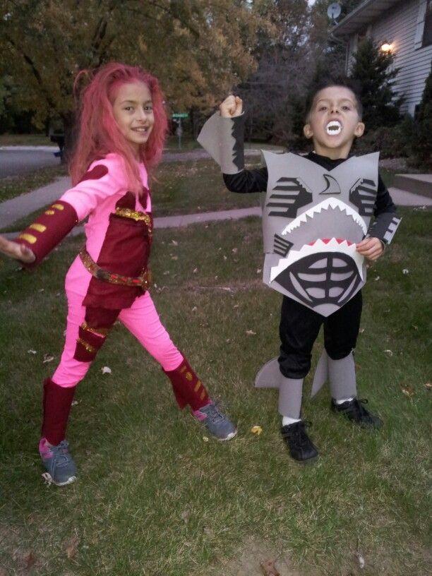 Shark Boy And Lava Girl  Halloween Boys, Girl Costumes -7903