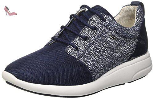 Geox Nebula A, Sneakers Basses Femme, (C9999), 35 EU
