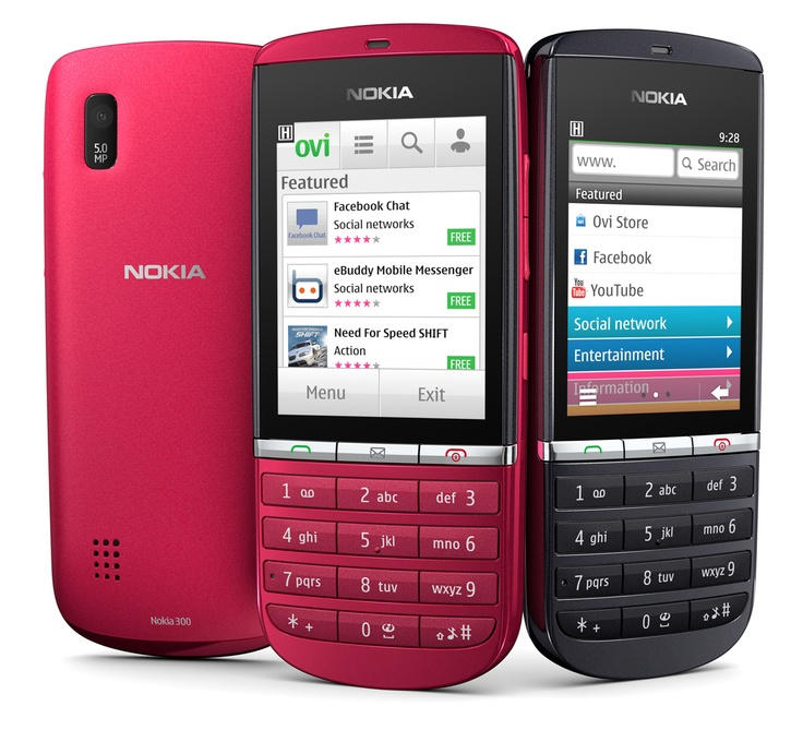Last year, Nokia launched the entry-level Nokia Asha 300 feature phone.  This handset runs on the Symbian Operating System.