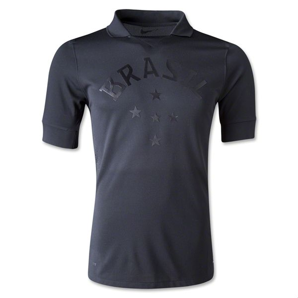 Brazil 2013 Authentic Third Soccer Jersey