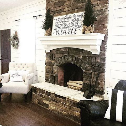 I only like the fireplace stone and mantle in this picture