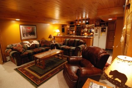 77 best images about man cave on pinterest theater for Western basement ideas