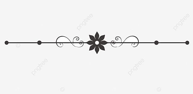 Flower Dividing Line Wavy Lines Simple Dividing Line Partition Line Gray Minimalist Dividing Line Minimalist Dotted Line Png And Vector With Transparent Back Vector Flowers Transparent Flowers Cartoon Flowers