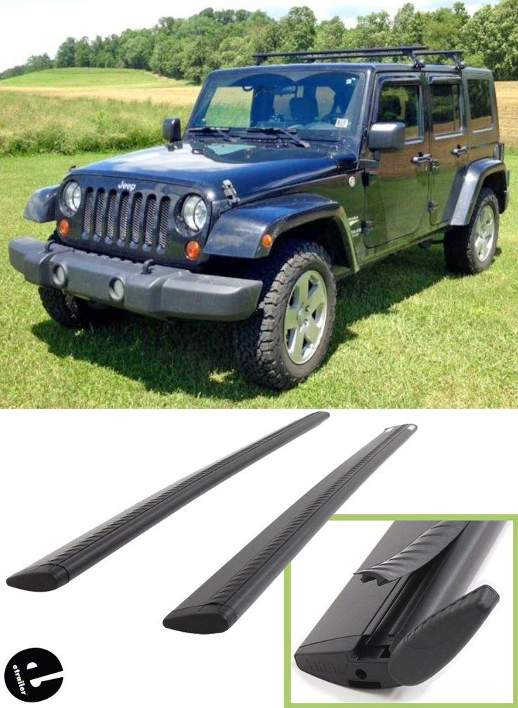 """Thule WingBar Evo Crossbars Aluminum Black 60"""" Long"""