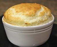 Smoked haddock souffle - absolutely delicious recipe by Michel Roux Jr. This was our second attempt, and I just can't describe how tasty this was... low calorie too.