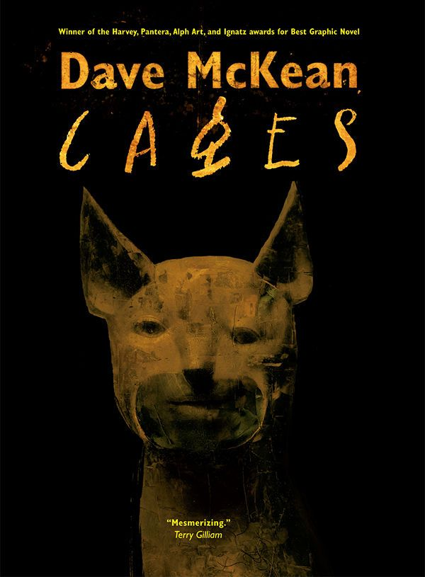 Cages by Dave McKean, $29.99