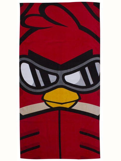 Angry Birds Go Fast Towel  - Kids Bedroom