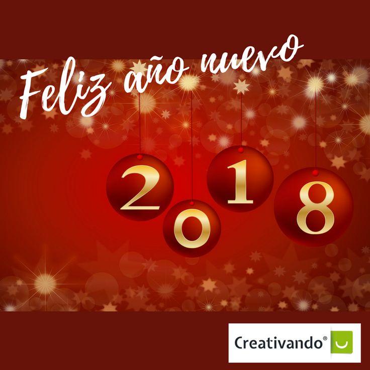 ¡Feliz año nuevo! Desde Creativando os queremos desear un año 2018 lleno de éxitos profesionales y personales. ¡A por ello!