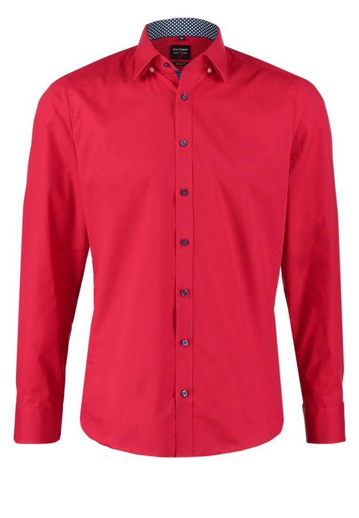 Olymp Level 5 BODY FIT Hemd dunkelrot Bekleidung bei Zalando.de | Material Oberstoff: 97% Baumwolle, 3% Elasthan | Bekleidung jetzt versandkostenfrei bei Zalando.de bestellen!