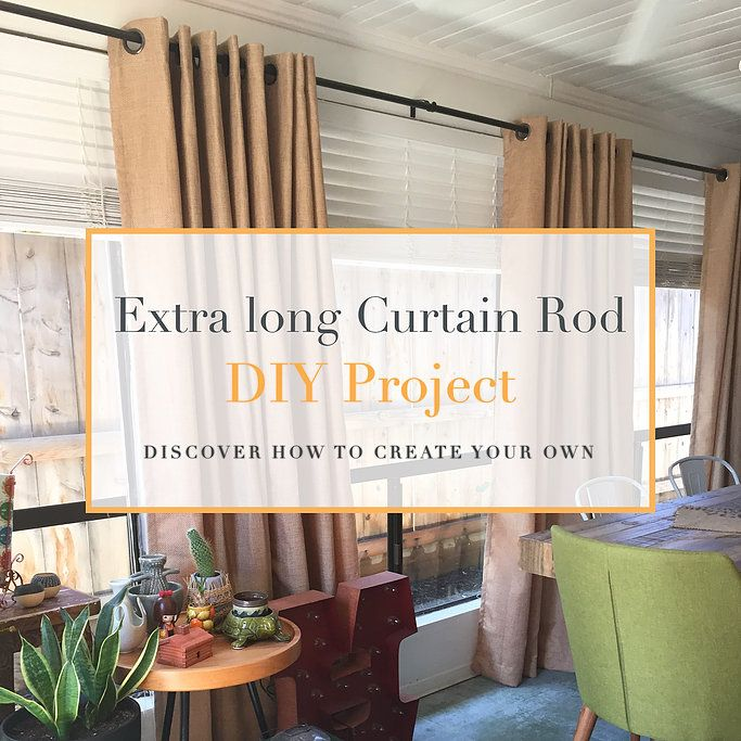 1000 Ideas About Extra Long Curtains On Pinterest Contemporary Curtain Rods Long Curtains